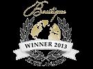 No.1 boutique hotel awards - 2013