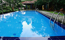 swimming pool in ratnapura lake serenity