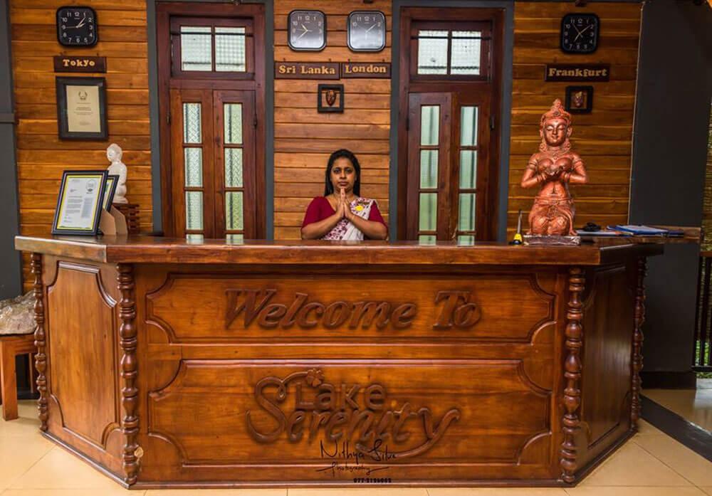 Ratnapura Lake Serenity Hotel Reception