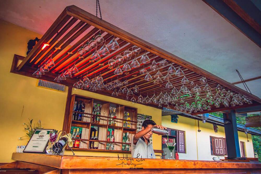 Restaurant, bar and hotel bartender
